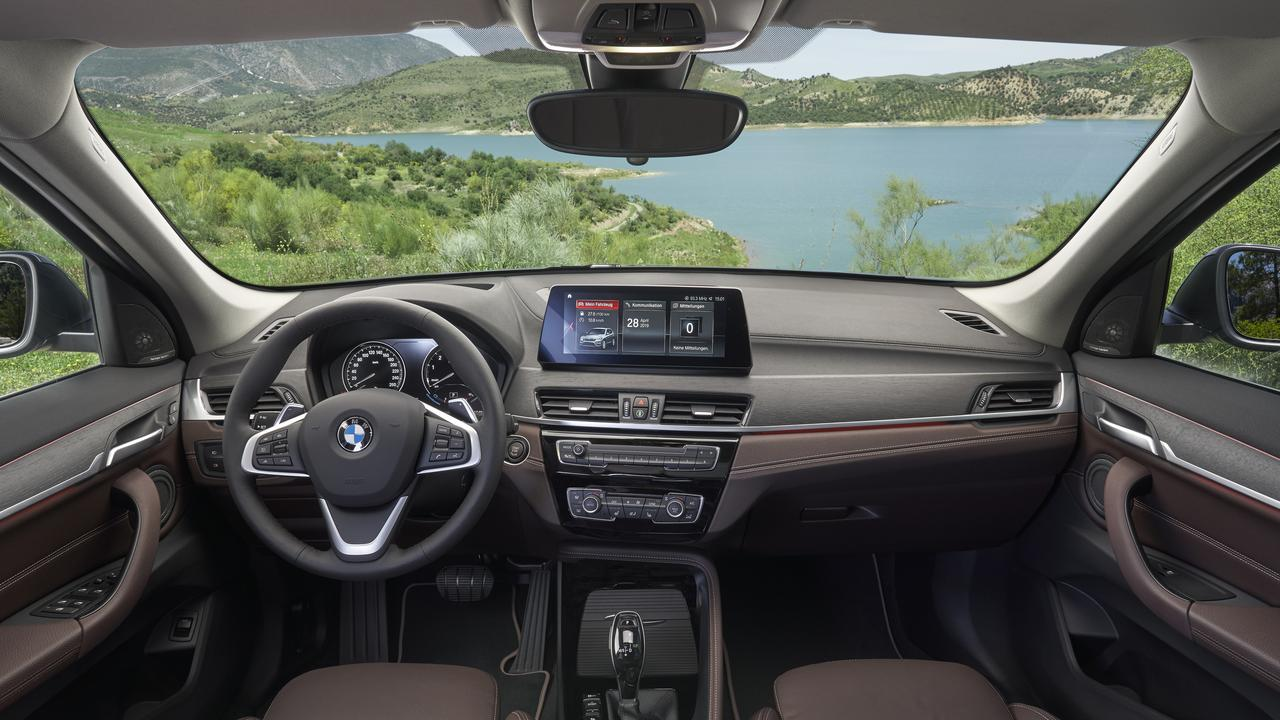 The BMW X1 has been updated with improved infotainment along with revised external packages (overseas model pictured).