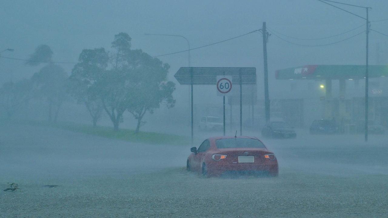 UNDERWATER: Flooding in the aftermath of ex-Tropical Cyclone Debbie in the Gladstone Region.