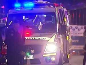 Teen brutally stabbed in massive hotel brawl