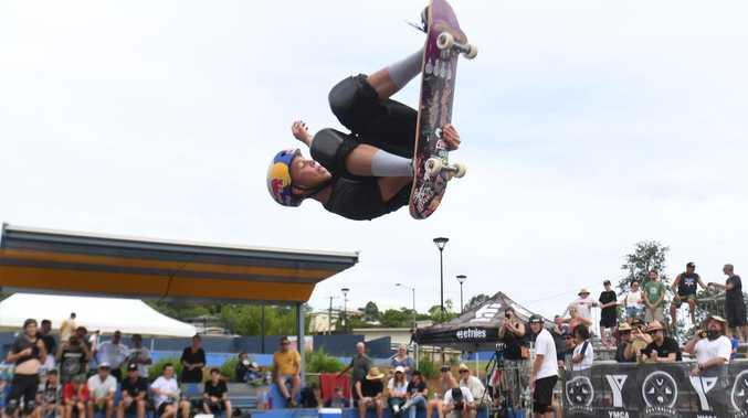 Tokyo Olympics hopeful praises Gympie's new skate park