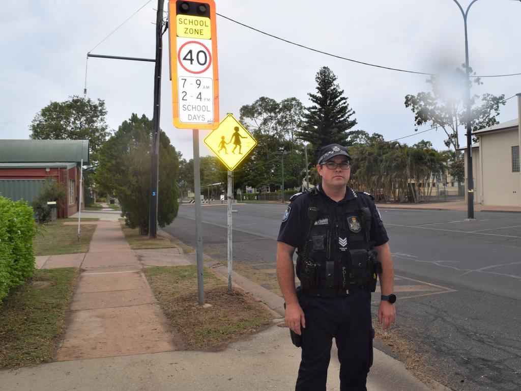 ON WATCH: Emerald Road Policing Unit Acting Sergeant Matt Walters.