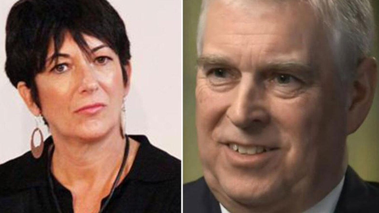 Ghislaine Maxwell and Prince Andrew.