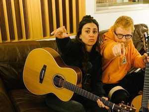 Amy Shark spills beans on 'incredible' Ed Sheeran