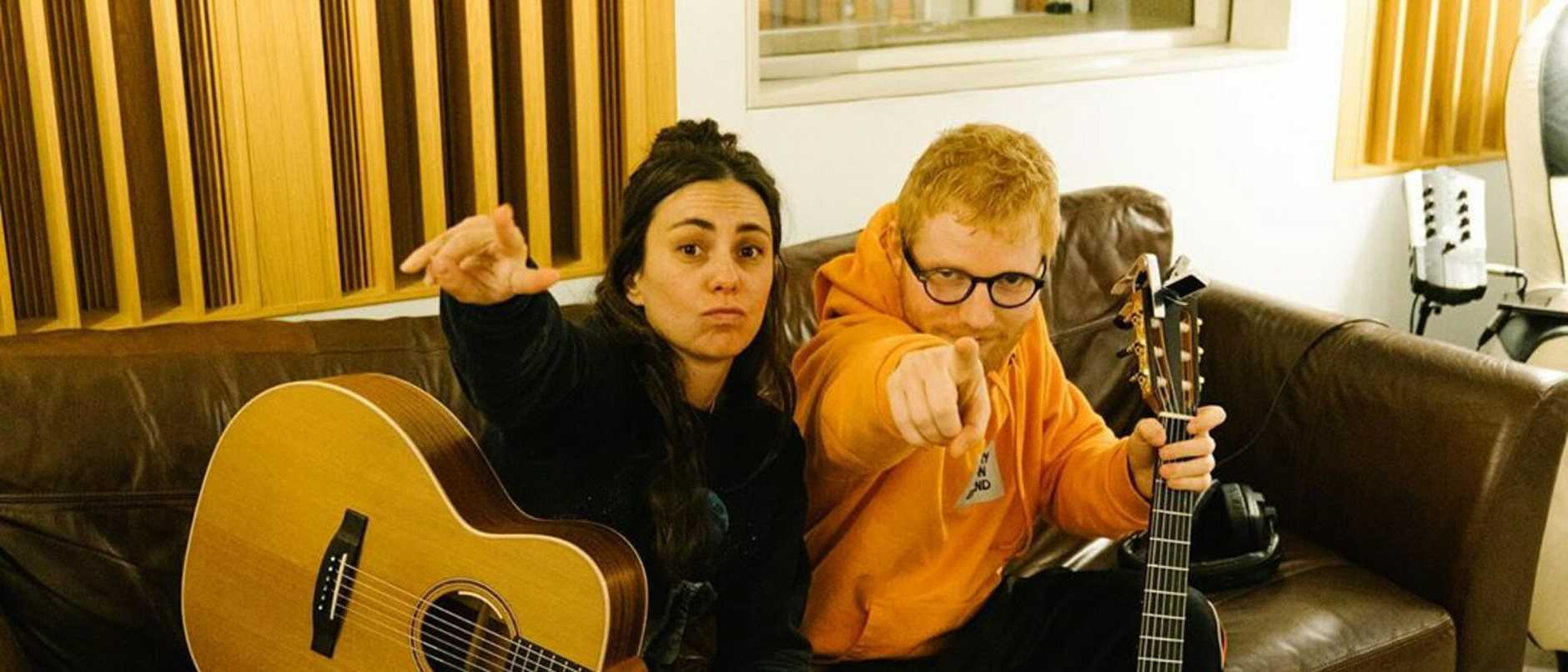 Amy Shark and Ed Sheeran