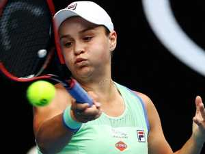 Barty responds after 'awkward' Australia Day question