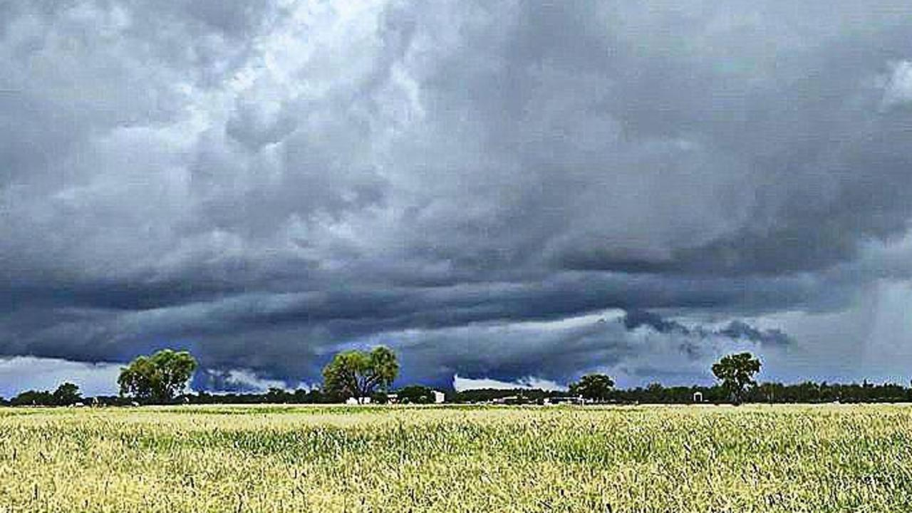 Clermont resident Stephanie Wood shared photos of the region as storm clouds rolled in.