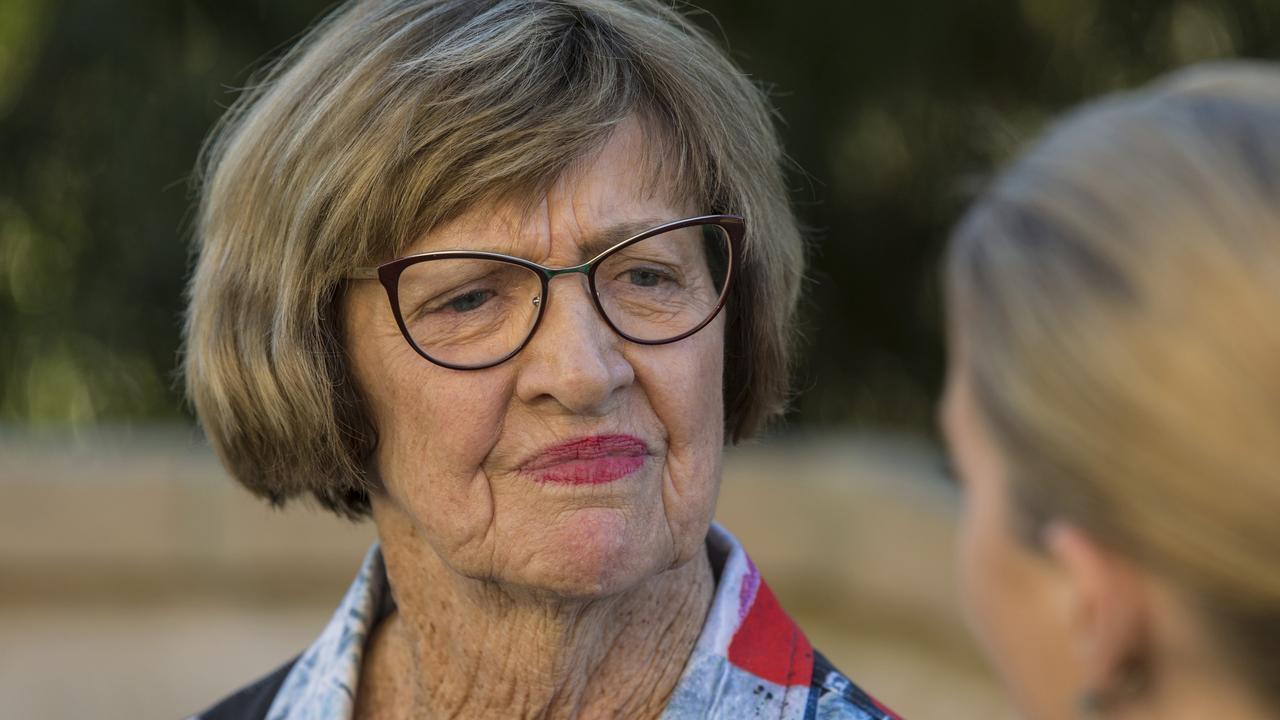 Outspoken tennis champion Margaret Court.