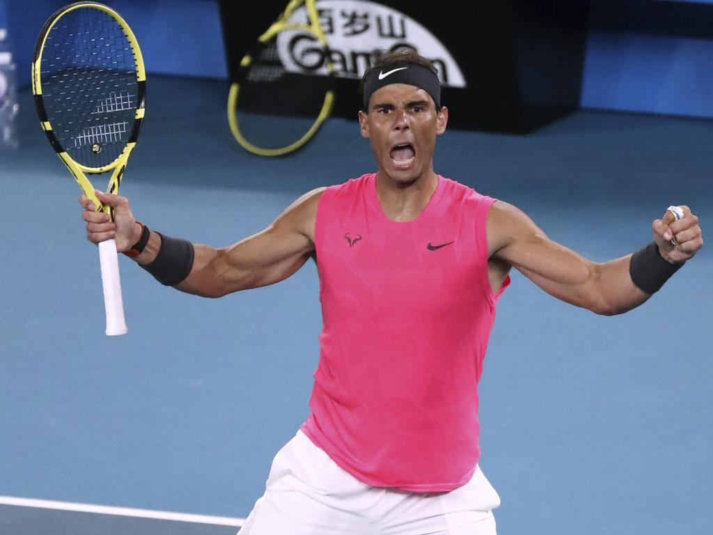 Spain's Rafael Nadal now has a 5-3 record against Nick Kyrgios.