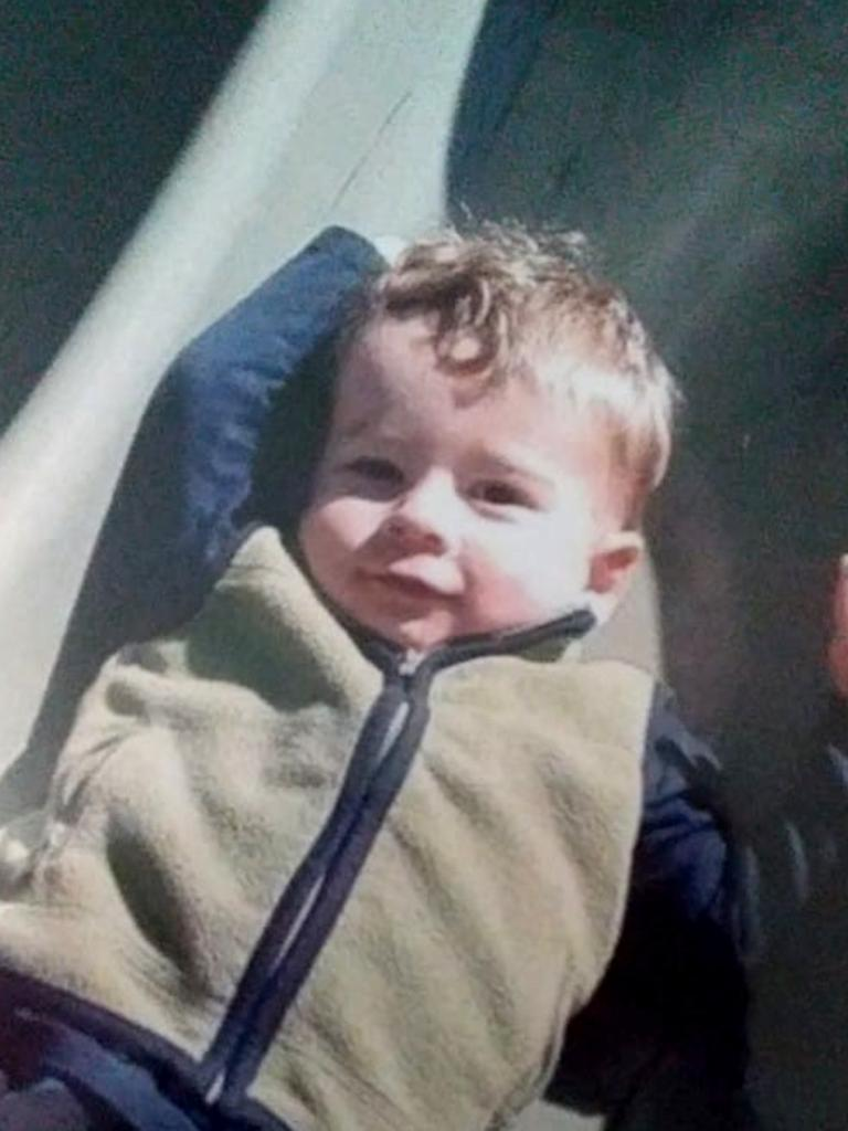 Two-year-old Connor Horan died from multiple head and internal injuries. Picture Supplied