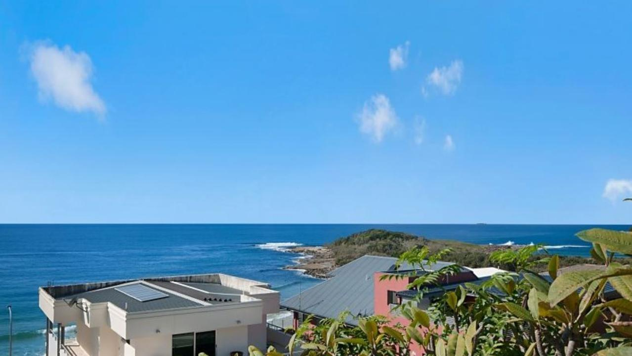 TOP VIEW: The panorama frm 40 Clarence St, Yamba, which fetched $2.6 million when it went under the hammer on Saturday, believed to be one of the best prices for a residential property in Yamba for four or five years.