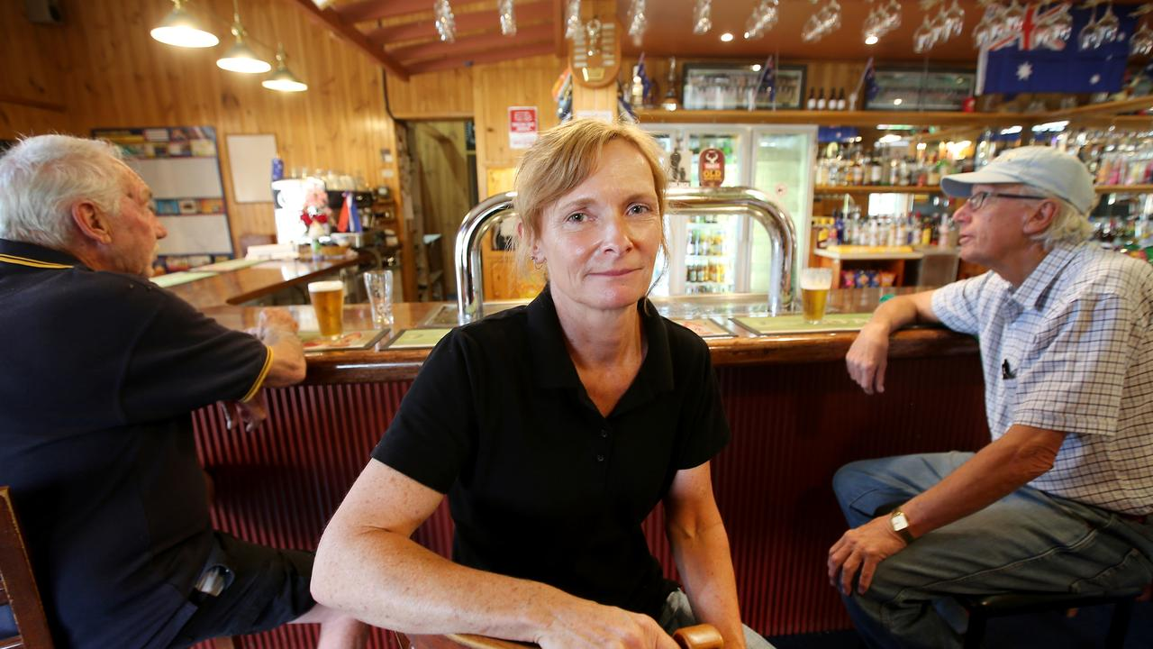 Apsley Arms Hotel owner Kath Knaggs is still waiting to be paid about $1400 from the RFS after she provided accommodation and meals for firefighters in November. Picture: Nathan Edwards