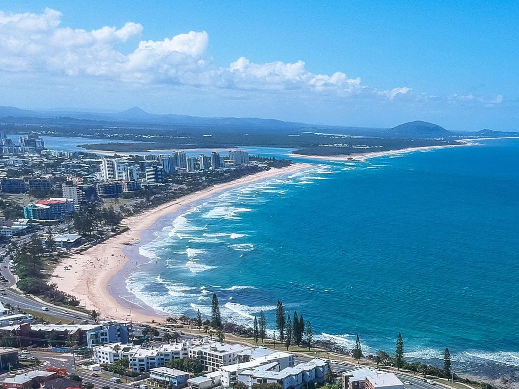 Alexandra Headland to Maroochydore is a popular spot for residents to spend an afternoon with a picnic and a few beers.