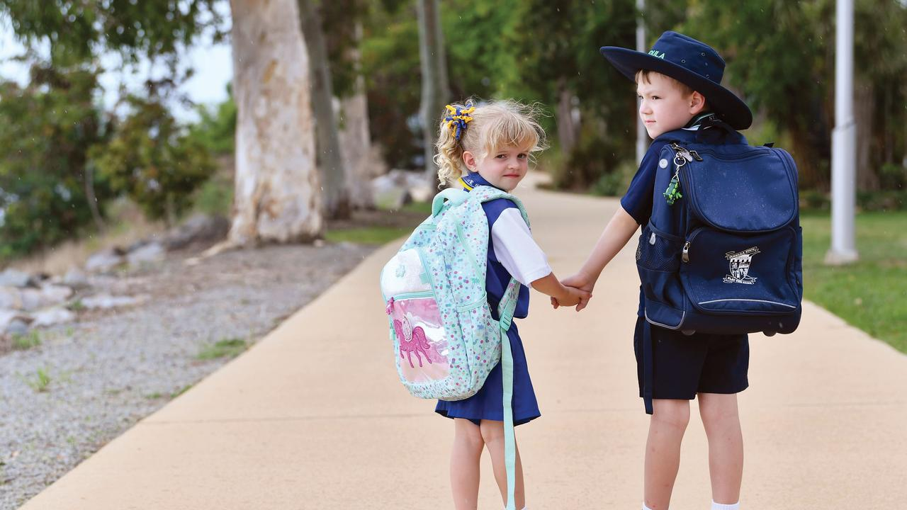 New preps from Fitzgerald State School Gemma Petith and Dundula State School Nate Batchelor. Picture: Tony Martin