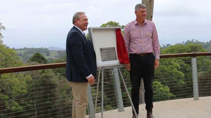 WATCH: Council launch $600k Bunya lookout