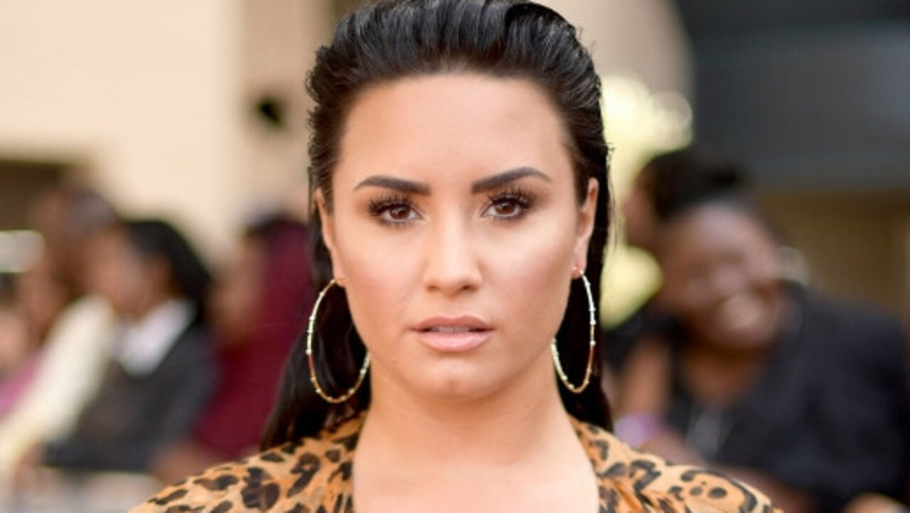 Lovato has been candid about her struggle with addiction, eating disorders and bipolar disorder. Picture: Getty.