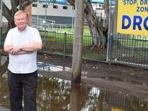 Flooding puts dampener on East Mackay school