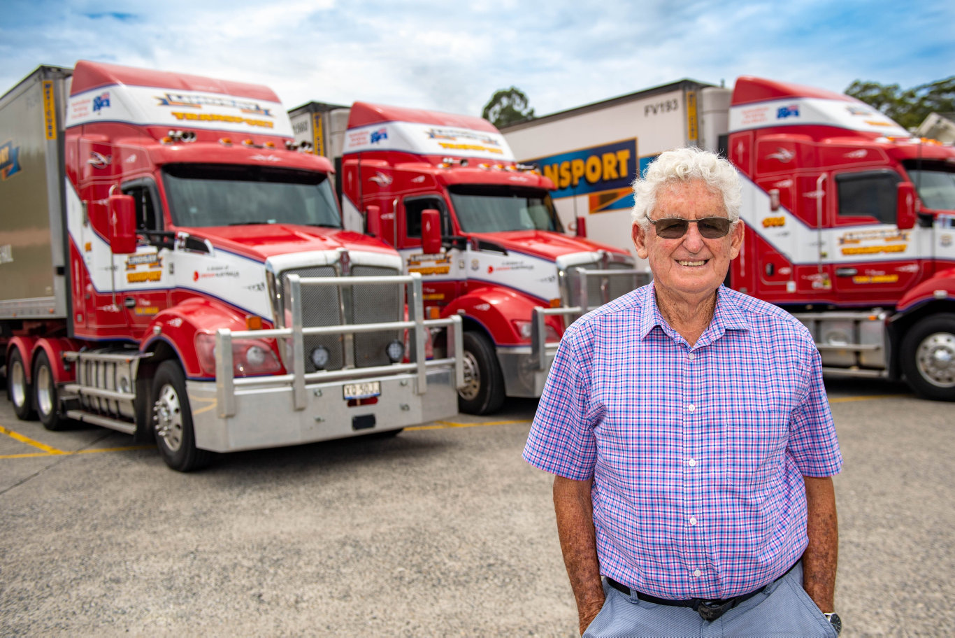Tom Lindsay, a transport industry icon and trucking hall of fame inductee, has today been award an Order of Australia Medal.