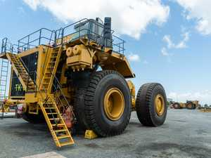 Adani trucks ready to roll out of Mackay