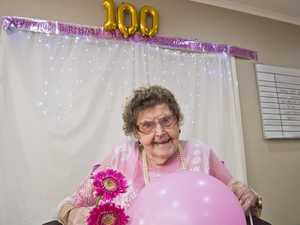 Norma Dwyer celebrates her 100th birthday with family