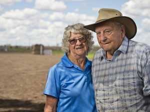 Pampas residents Ted and Margaret Kelly will spend