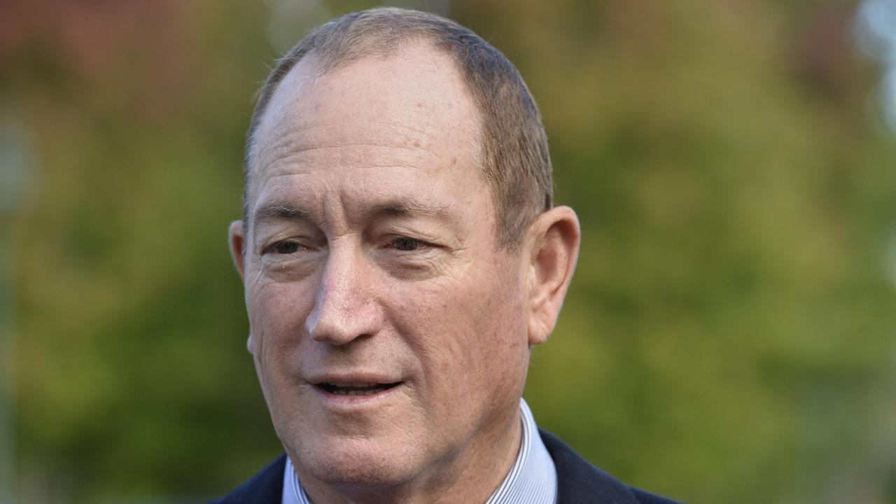 In 2018, then federal Senator Fraser Anning used taxpayer funding to attend an alt-right rally in Melbourne, where some attendees were spotted wearing Nazi paraphernalia. Picture: supplied