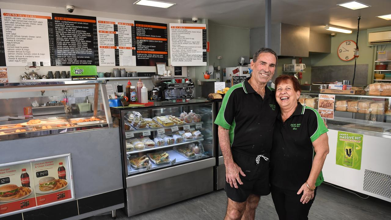 Bill and Bev McConochie have a had a long career in Ipswich business at the helm of the Hoe Inn, Bille Mac's and Brassall Village Hot Bread.