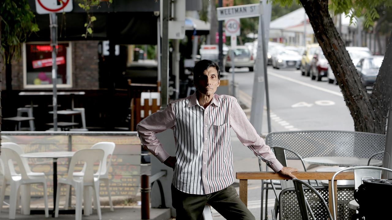 Sarosh Mehta, former owner of Casablanca in Petrie Terrace. Picture: Mark Cranitch