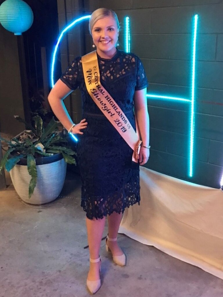 Clermont's Lyndal Tuttle is the 2020 Young Citizen of the Year for the Isaac region. She is pictured here after winning Central Highlands showgirl last year.