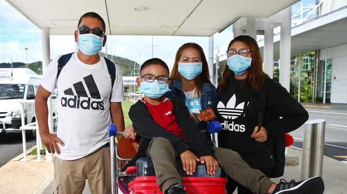 Shock at lack of virus check at major Qld airport