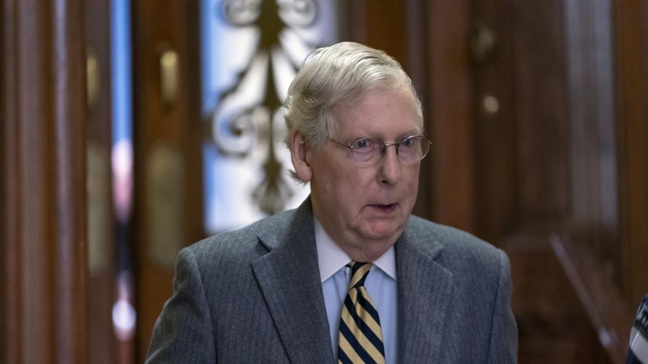 Senate Majority Leader Mitch McConnell. Picture: AP/J. Scott Applewhite