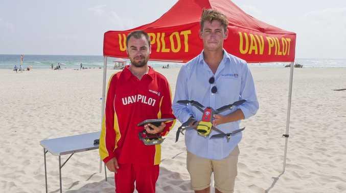 Drone pilot reveals success of Tweed shark safety program