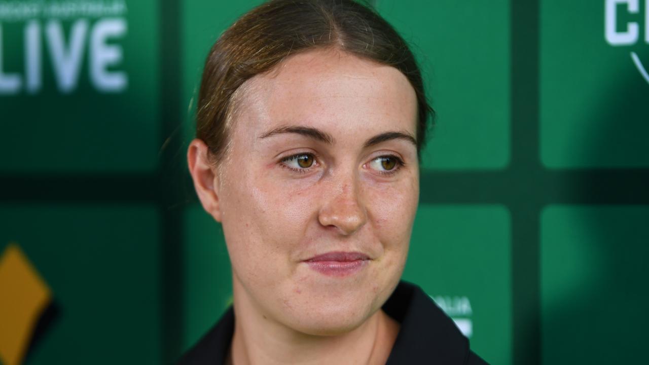 Tayla Vlaeminck missed Monday's warm-up match.
