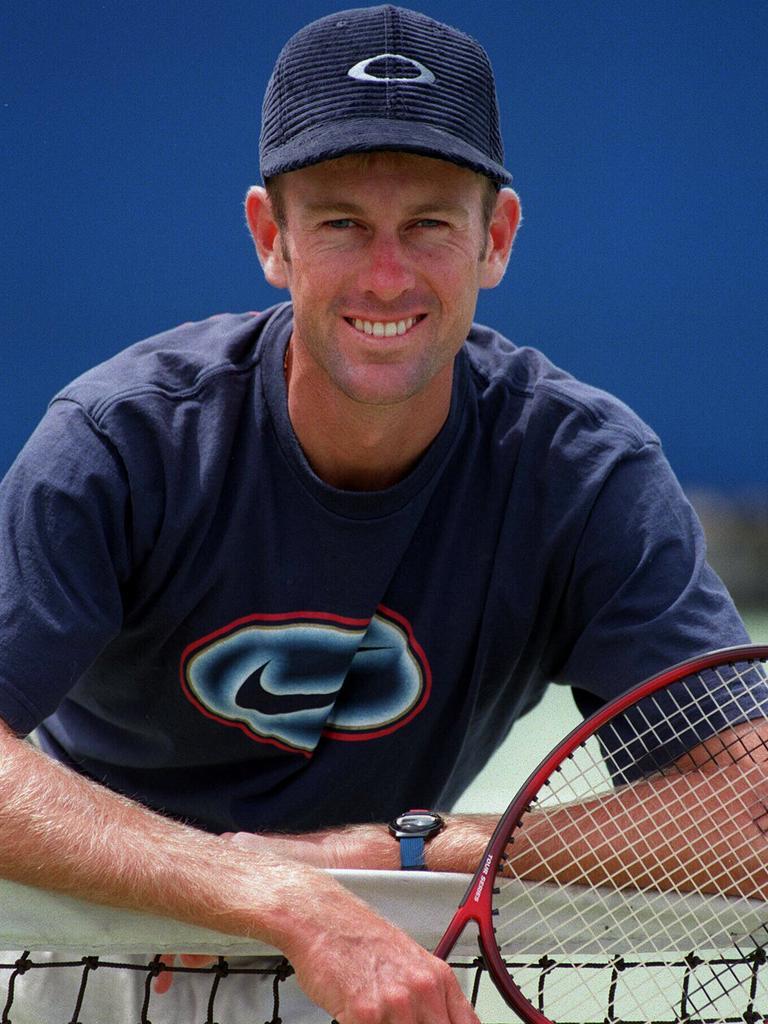 Tennis player Peter Tramacchi.