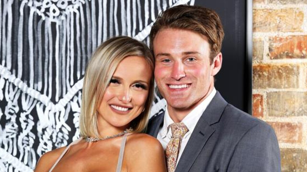 Happier times … Susie and Billy on MAFS season 6. Picture: Channel 9.