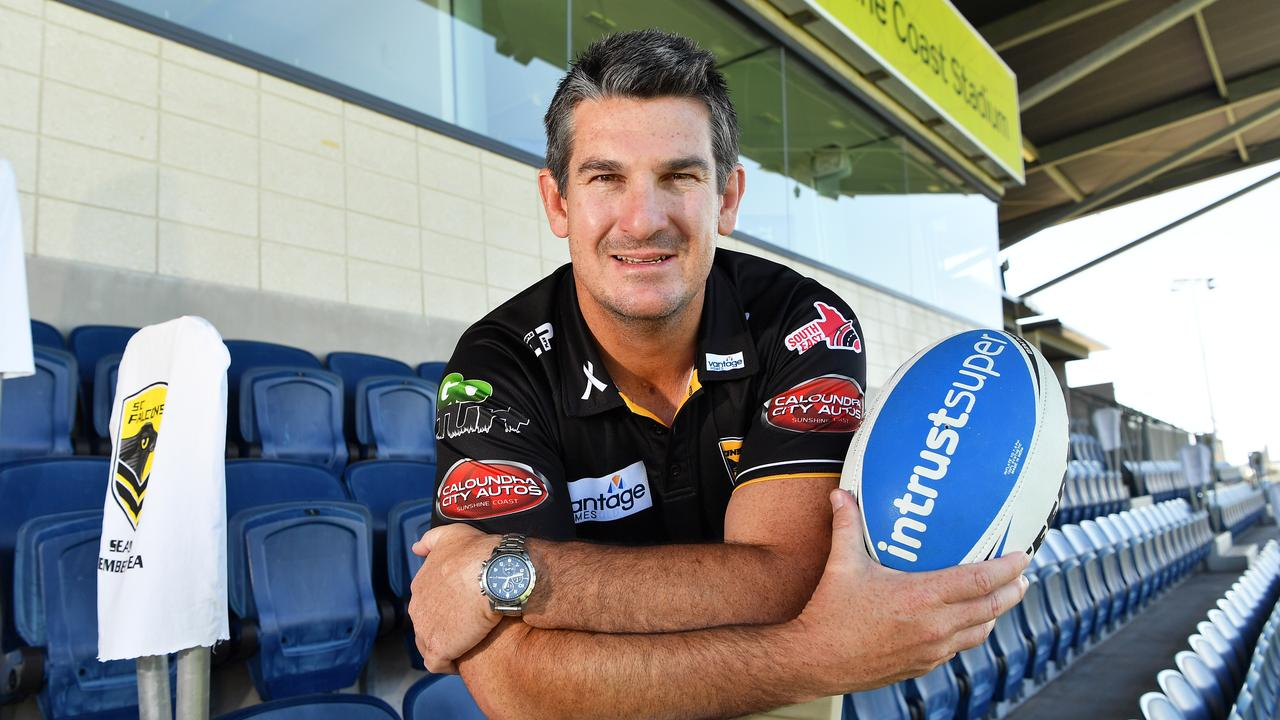 Sunshine Coast Falcons CEO Chris Flannery said despite the team's stellar year, the club took a hit to its bank account. Photo Patrick Woods / Sunshine Coast Daily.