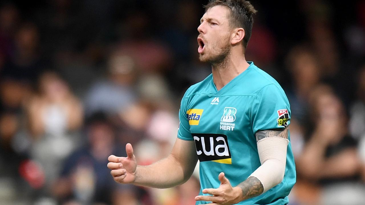 James Pattinson and the rest of the Heat attack did their job but were let down by the batsmen.