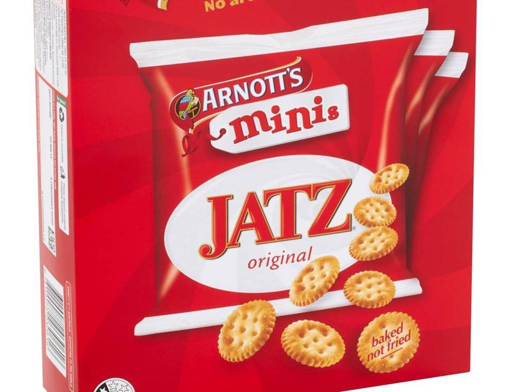 Arnott's Mini Jatz, 8 pack.