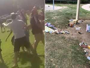 Drunken teens slammed for leaving park in shambles