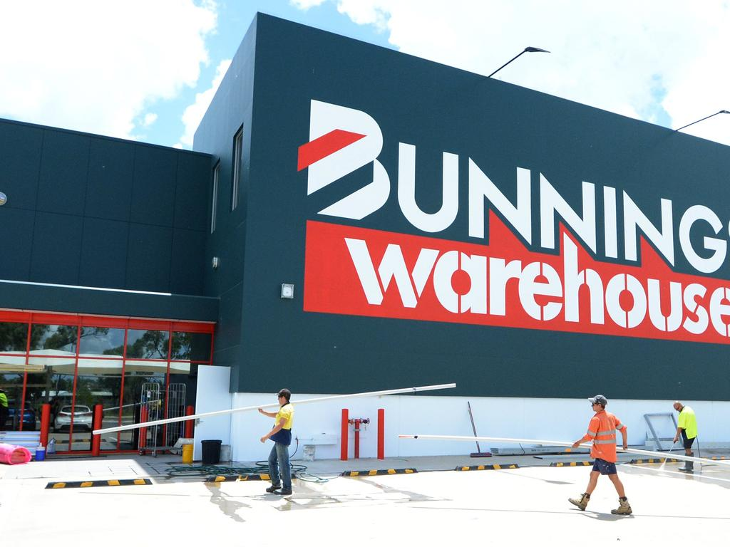 According to Bunnings' website, dogs are allowed in the store; however, they must be carried, sit in a trolley or be on a lead or muzzled. Picture: Supplied
