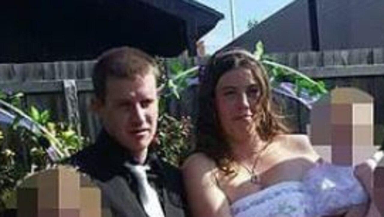 Alleged Geelong murder victim Daniel Surtees with Angela O'Brien.