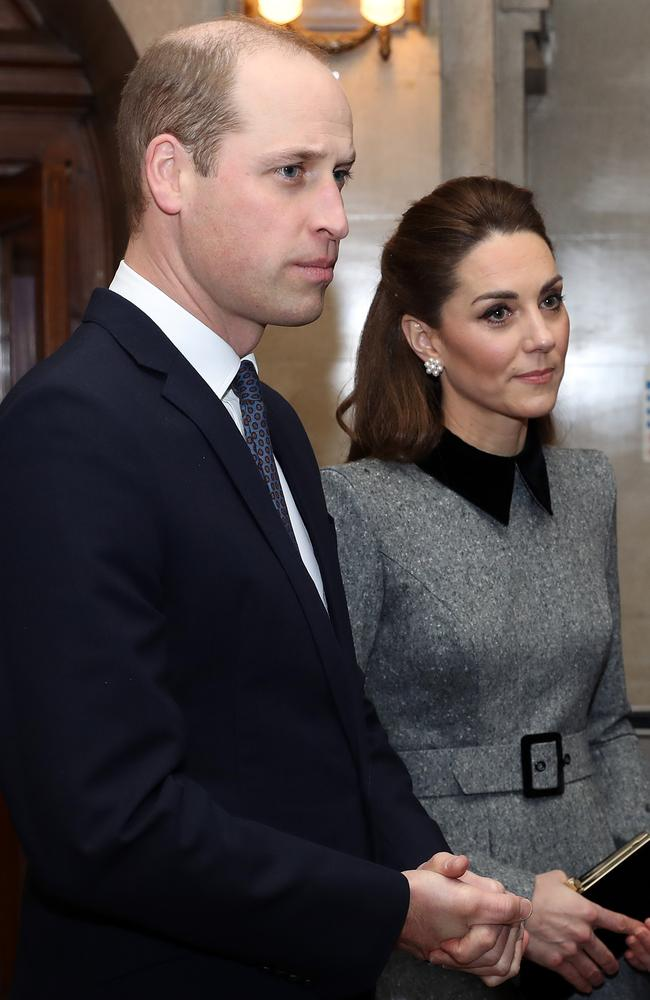 The couple were joined by other dignitaries. Picture: Chris Jackson/Getty Images