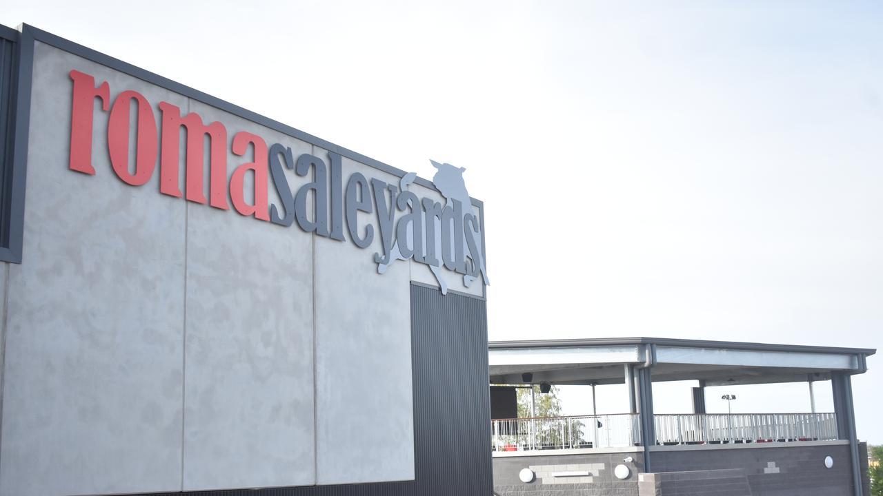 Roma Saleyards new facility.