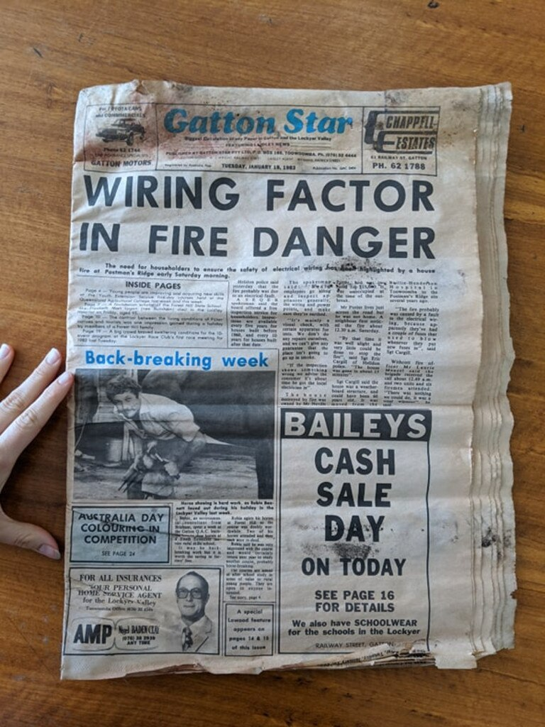 HISTORY: The paper was in almost perfect condition. Photo: Ebony Graveur