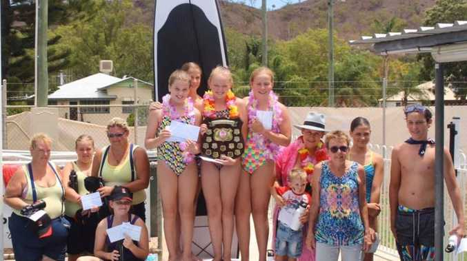 Swimmers make waves at Mitchell Roth Mercantile Relay