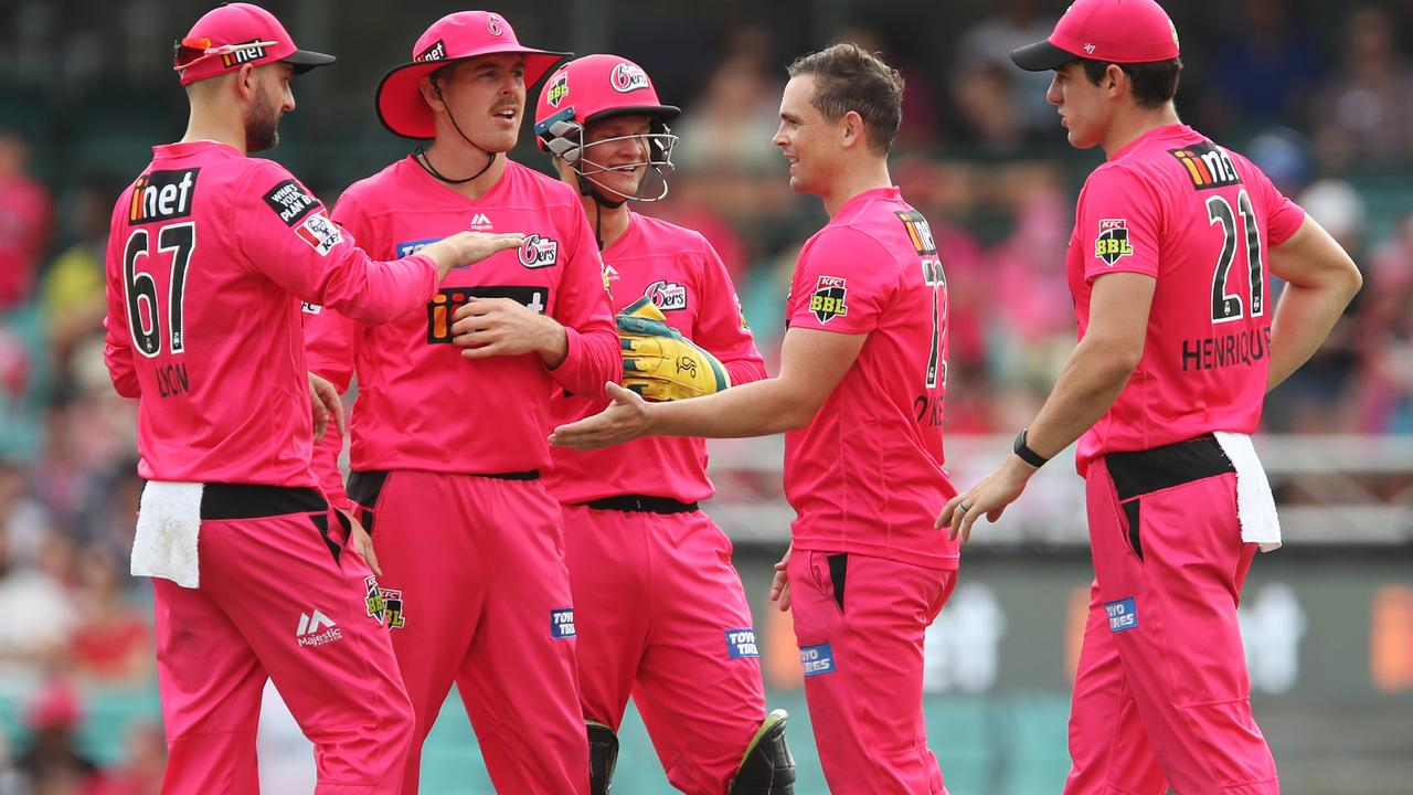 Aaron Finch has tipped the Sydney Sixers to take the title.