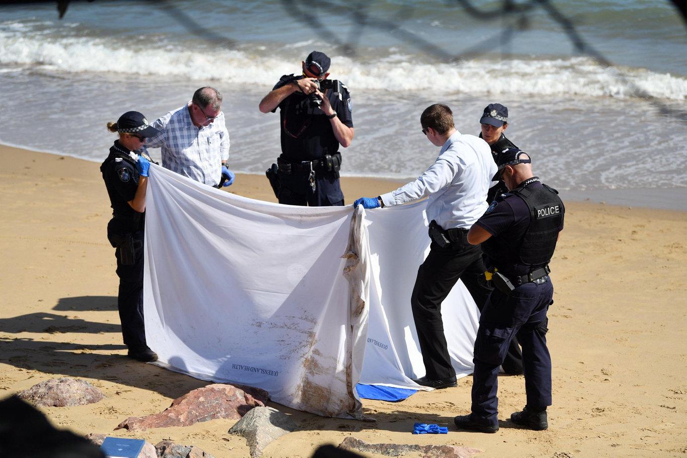 Body found on beach - A woman's body was found on Scarness beach. Photo: Cody Fox