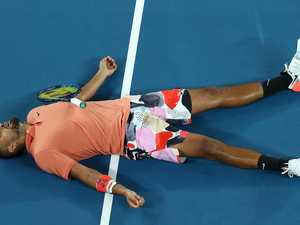 Help, something's not right, I'm warming to Kyrgios