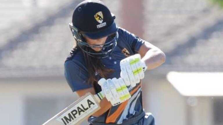 TALENTED: Ruby Strange is equally as classy with bat and ball.