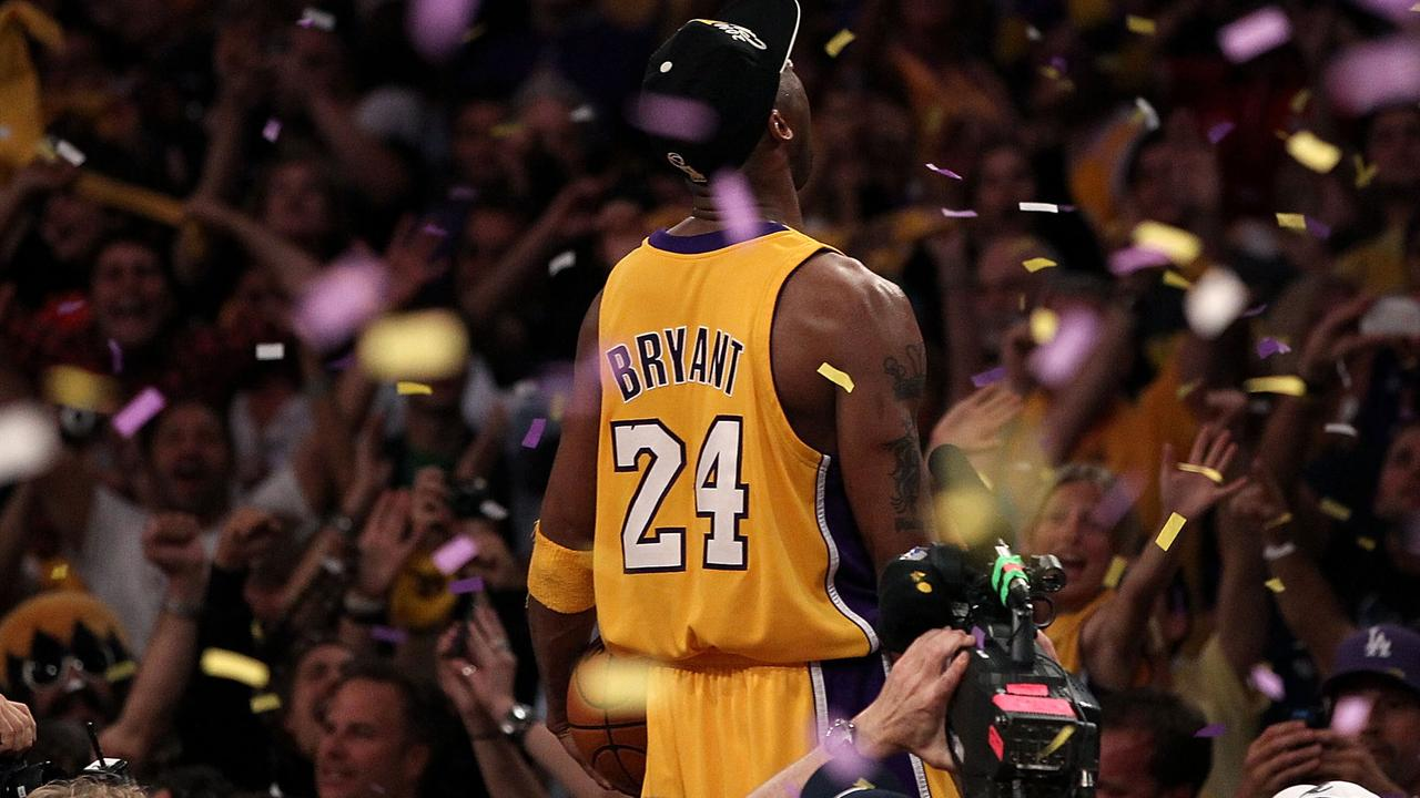 Kobe Bryant was a success both on and off the basketball court. Picture: Getty Images