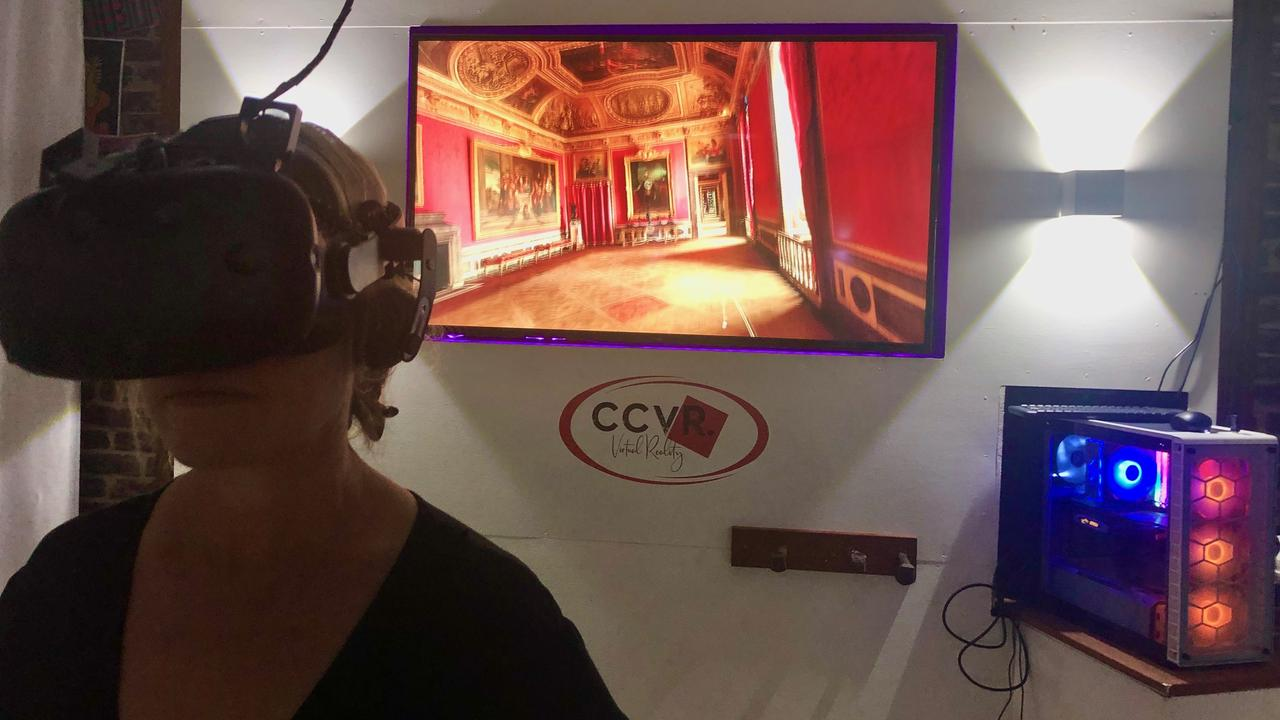 BE THERE: You can walk through the Palace of Versailles, fly to the moon or revisit your home town at Central Coast Virtual Reality at The Entrance, where not even the sky is the limit!